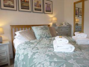 Guest House double room with lake view separate bathroom Bassenthwaite neat Keswick Lake District