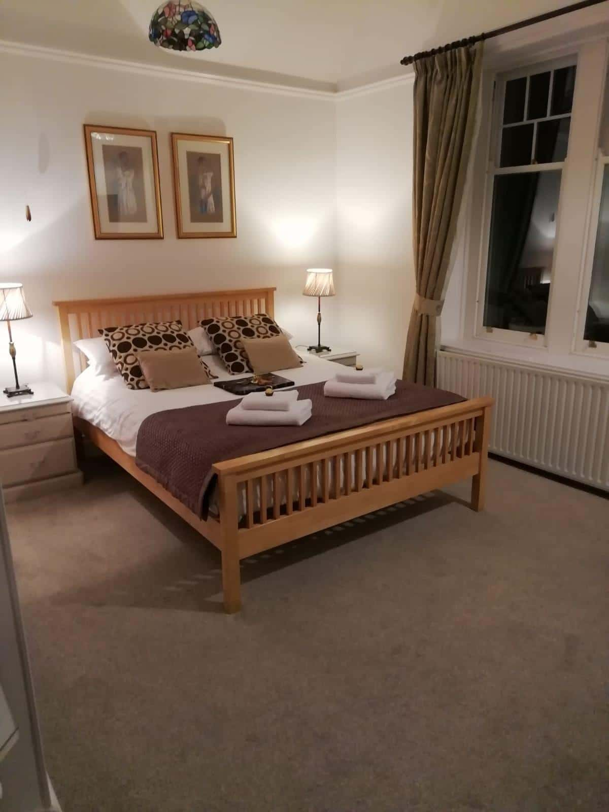 Guest house bedroom in Bassenthwaite near Keswick Superior Room 1