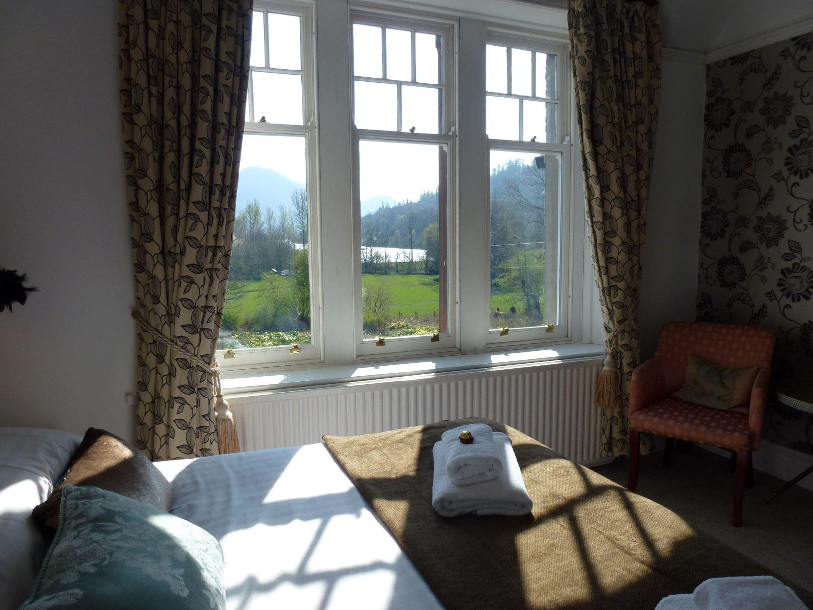 Guest House Superior Room with lake view of Bassenthwaite near Keswick