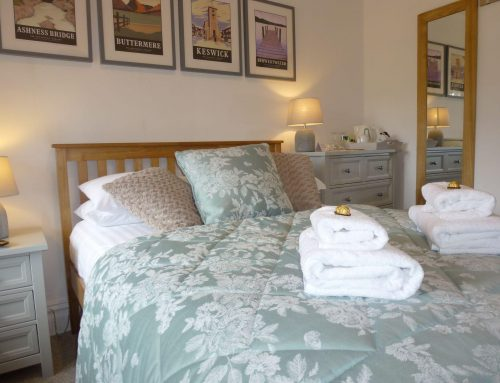 Fresh new look to small double room